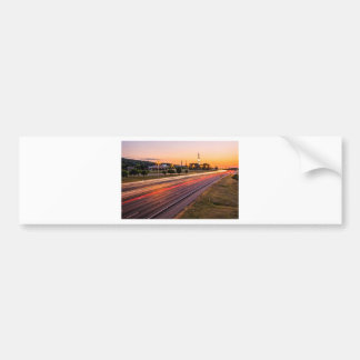 U.S. Space and Rocket Center at Sunset Bumper Sticker