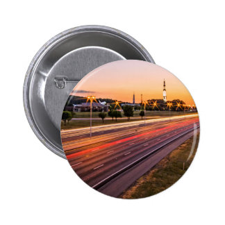 U.S. Space and Rocket Center at Sunset Pinback Buttons