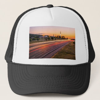 U.S. Space and Rocket Center at Sunset Trucker Hat