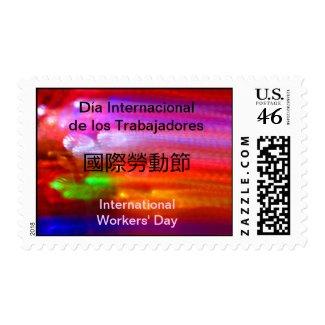 U.S. Stamp - Día Internacional de los Trabajadores