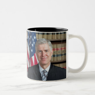 U.S. Supreme Court Justice Neil Gorsuch Two-Tone Coffee Mug