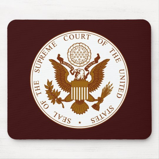 U.S. Supreme Court Seal Mouse Pad