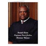U.S. Supreme Justice Clarence Thomas Card