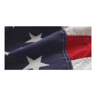 U.S. tarjeta ascendente cercana de la foto de la b Tarjeta Con Foto Personalizada