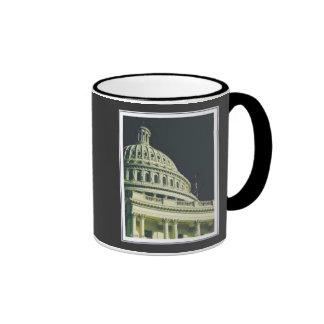 U.S. Taza del edificio del capitolio