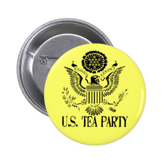 U.S. Tea Party Pinback Button