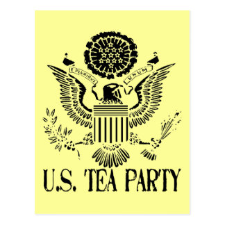 U.S. Tea Party Postcard