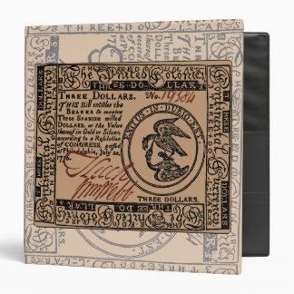 U.S. Three Dollar Bill - Binder