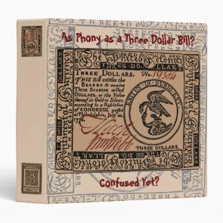 U.S. Three Dollar Bill: Confused? - Binder