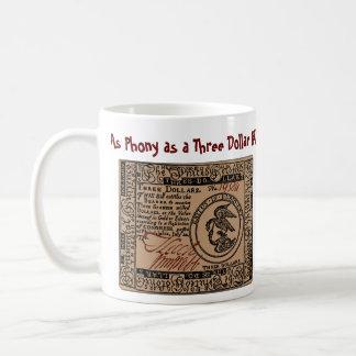 U.S. Three Dollar Bill: Confused? - Mug #1