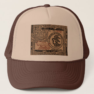 U.S. Three Dollar Bill - Hat