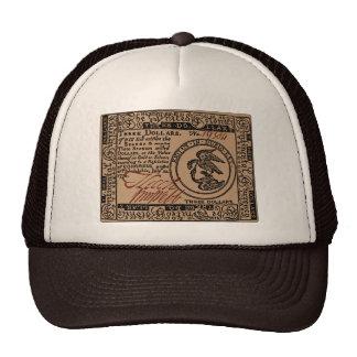 U.S. Three Dollar Bill - Hat