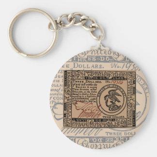 U.S. Three Dollar Bill - Keychain