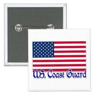 U.S. Veteran Pinback Button