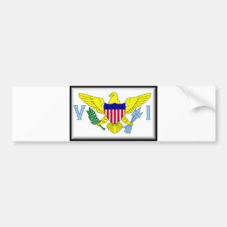 U.S. Virgin Islands Car Bumper Sticker