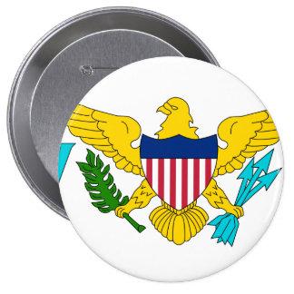 U S Virgin Islands Buttons