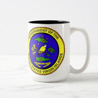 U.S. Virgin Islands Coffee Cup