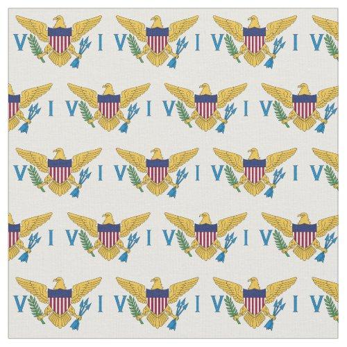 US Virgin Islands Flag 15W x 1H Fabric