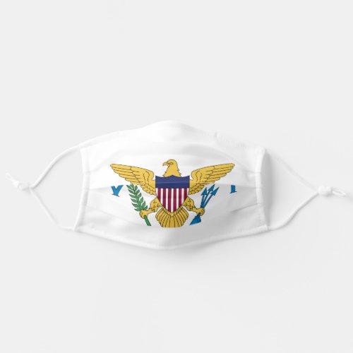 US Virgin Islands Flag Cloth Face Mask
