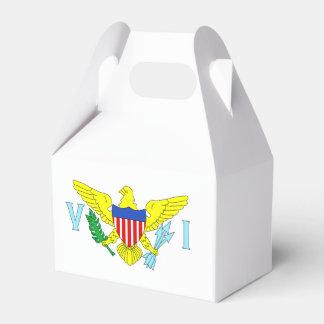 U.S. Virgin Islands Flag Favor Box