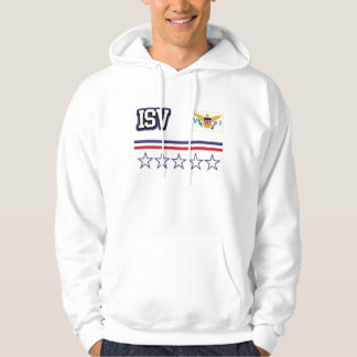 U.S. Virgin Islands Flag Hoodie