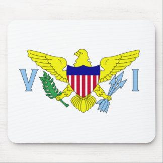 U.S. Virgin Islands Flag Mousepad