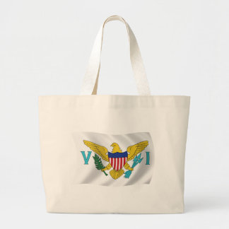 U.S. Virgin Islands Flag Tote Bag