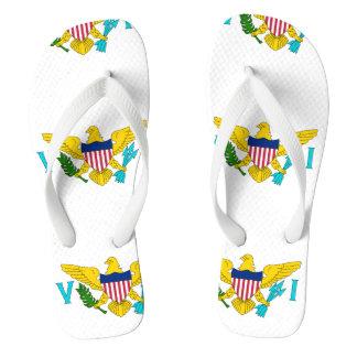 U.S. Virgin Islands Flip Flops
