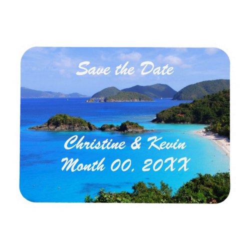 U.S. Virgin Islands Save the Date Magnet
