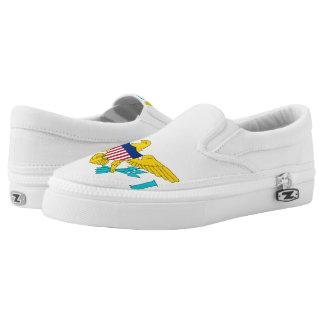 U.S. Virgin Islands Slip-On Sneakers
