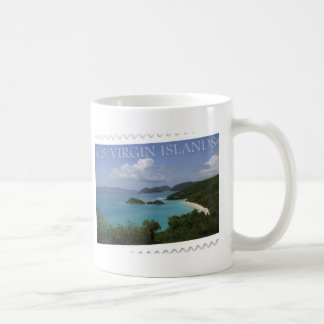 U.S. Virgin Islands - St. John's Trunk Bay Classic White Coffee Mug
