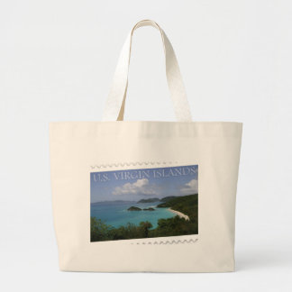 U.S. Virgin Islands - St. John's Trunk Bay Jumbo Tote Bag