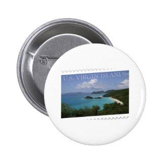 U.S. Virgin Islands - St. John's Trunk Bay Pins