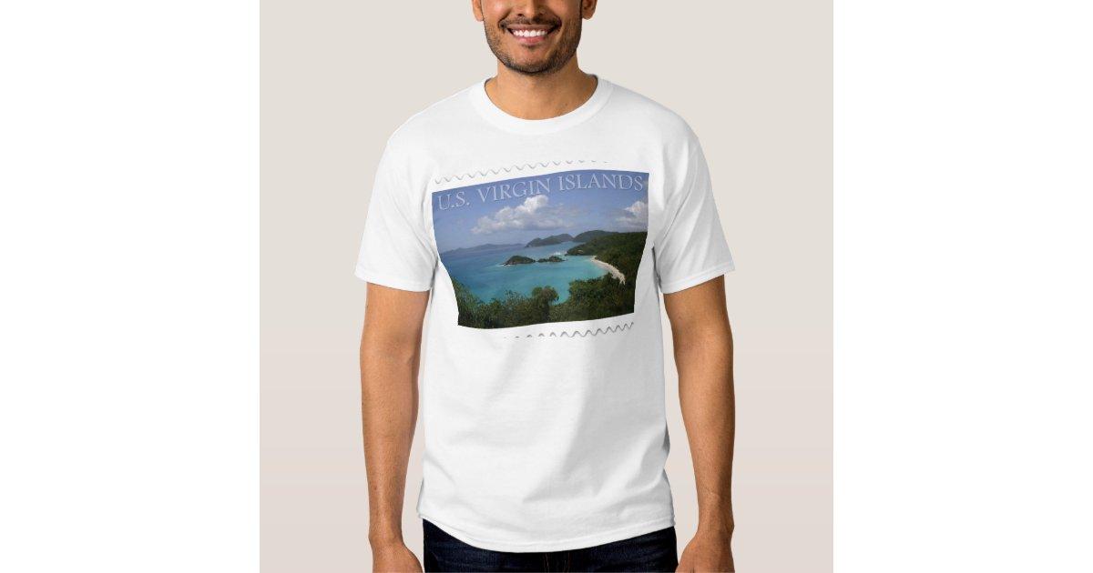 U S Virgin Islands St John 39 S Trunk Bay T Shirt Zazzle