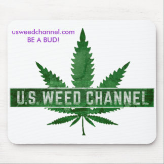 U.S. WEED CHANNEL Mouse Pad