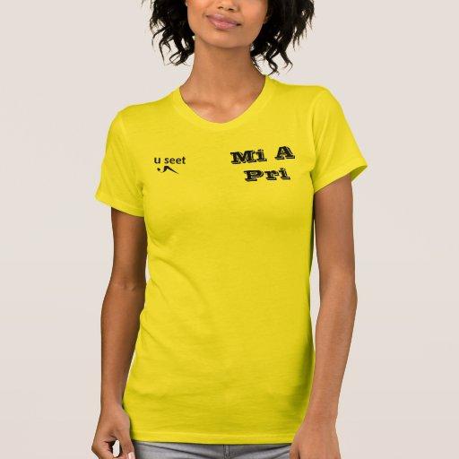 "U Seet ""Mi A Pri"" Jamaican T-shirt"