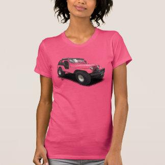 U-Selección el coche de cuatro ruedas del color en Camisetas