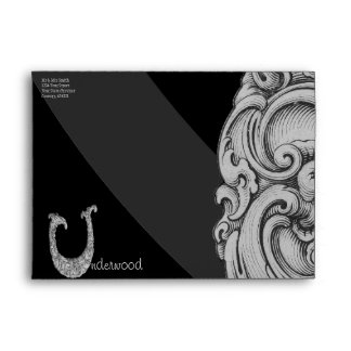 U - The Falck Alphabet (Silvery) Envelope