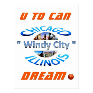 U To Can Dream Logo 03 Postcard