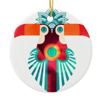 U Toucan Ceramic Ornament