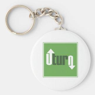 U-Turn Keychain