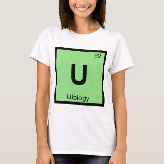 U - Ufology Chemistry Periodic Table Symbol T-Shirt