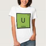 U - Updog What's Chemistry Periodic Table Symbol T-Shirt