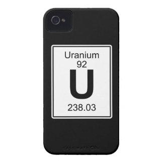 U - Uranium Case-Mate iPhone 4 Case