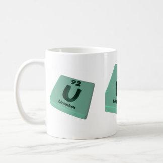 U Uranium Coffee Mug