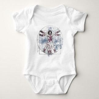 U.V MAN(Universal Vitruvian Man) Baby Bodysuit