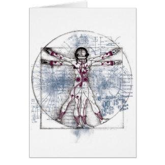 U.V MAN(Universal Vitruvian Man) Card