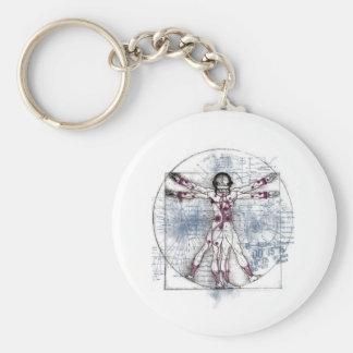 U.V MAN(Universal Vitruvian Man) Keychains