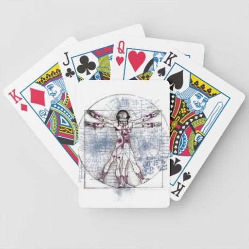 U.V MAN(Universal Vitruvian Man) Playing Cards