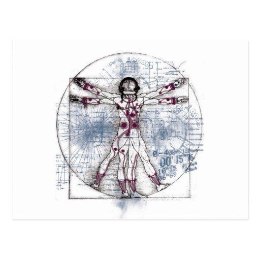 U.V MAN(Universal Vitruvian Man) Post Card